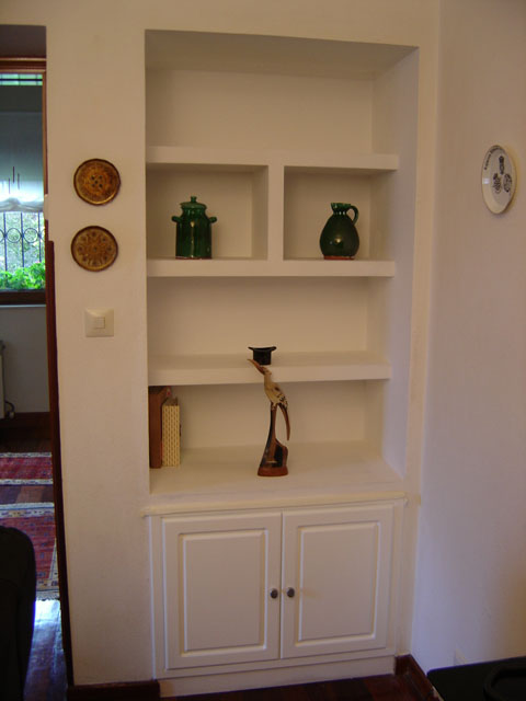 A medida muebles de pladur muebles pladur for Fotos de librerias de salon
